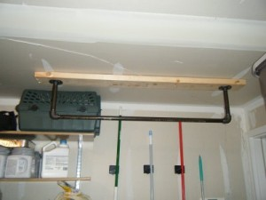 Front - Ceiling Mount Make a Pull Up Bar