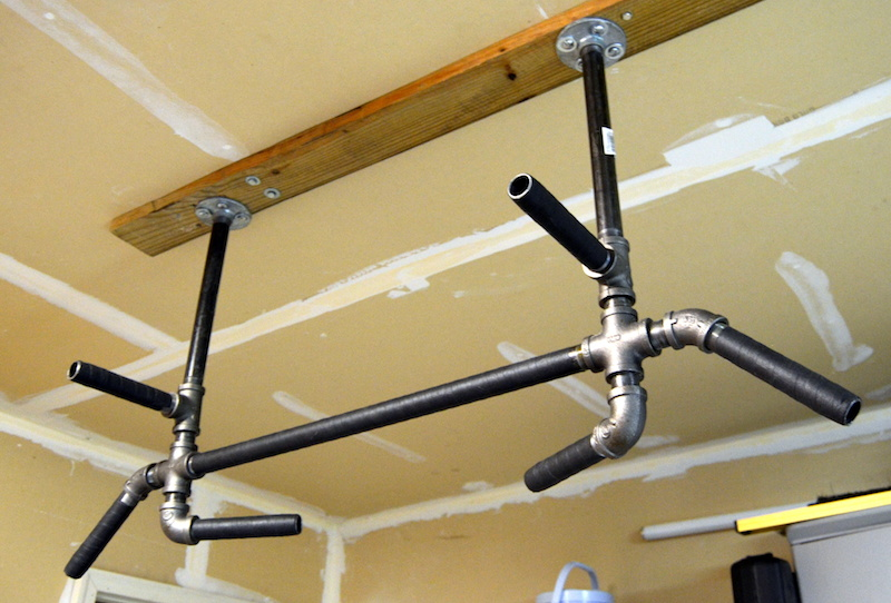 Make A Pull Up Bar Improve Strength Save Money